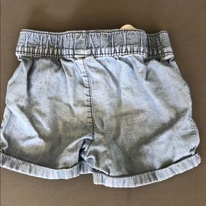 Carter's Bottoms - Carter's Chambray Denim Shorts